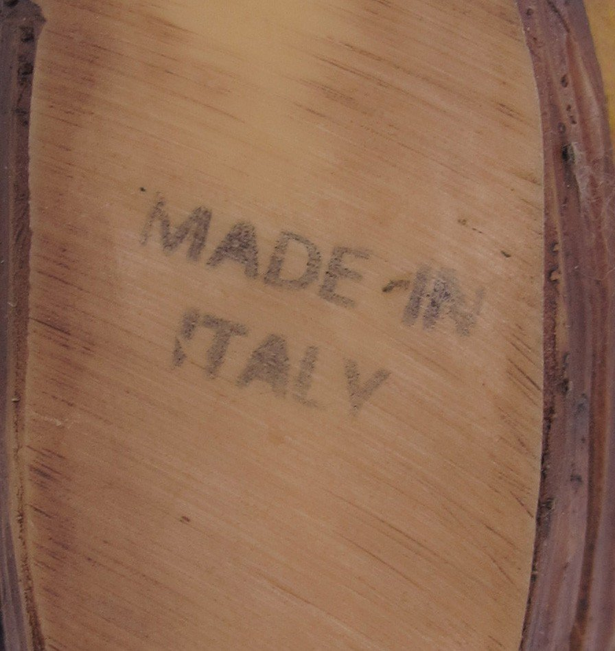 401: VINTAGE ITALIAN NATIVITY SET WITH CRECHE - 3