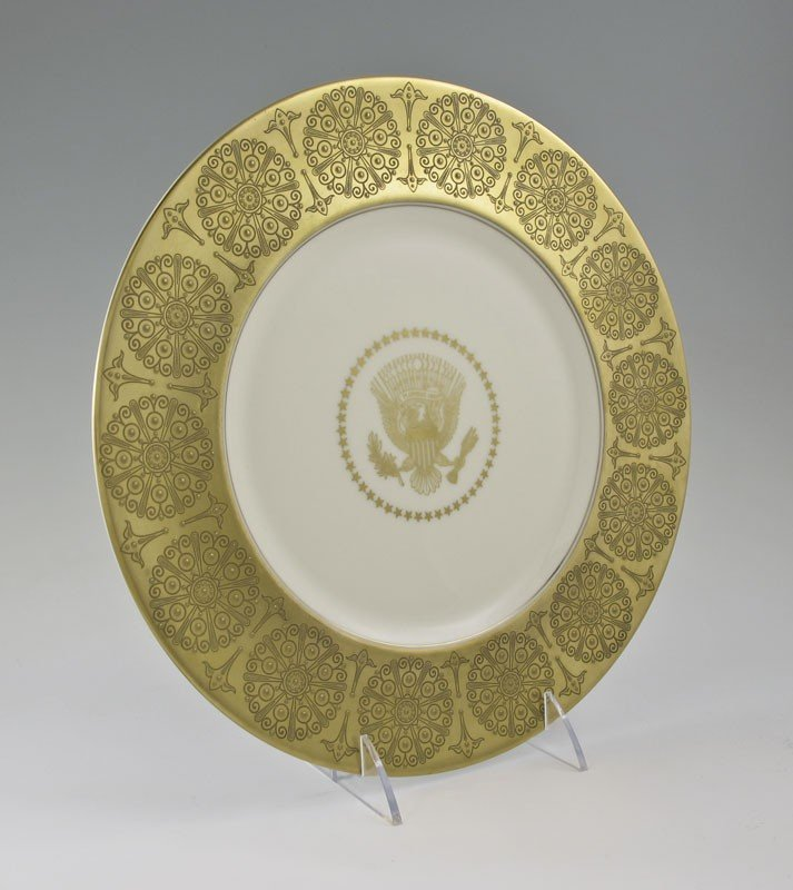 4: 1955 WHITE HOUSE PRESIDENTIAL SERVICE PLATE