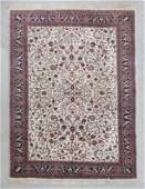 442: MODERN INDO PERSIAN HAND KNOTTED WOOL RUG apprx 8