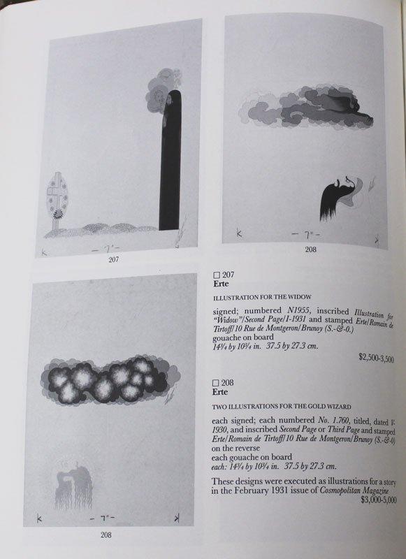 43: ERTE GOUACHE ILLUSTRATION FOR COSMO - 6