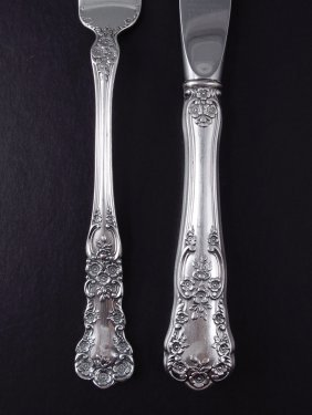 GORHAM BUTTERCUP STERLING FLATWARE SERVICE