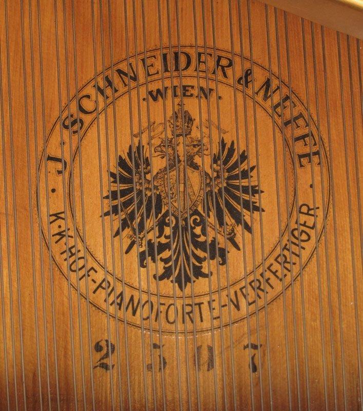 151: J. SCHNEIDER & NEFFE AUSTRIAN PARLOR GRAND PIANO - 2