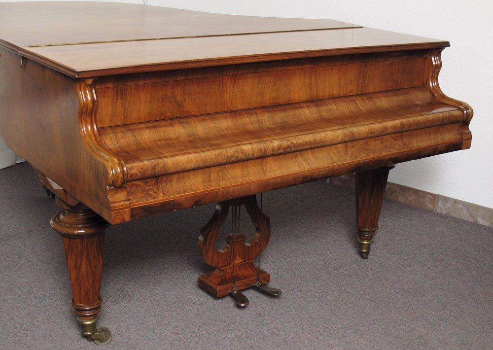 151: J. SCHNEIDER & NEFFE AUSTRIAN PARLOR GRAND PIANO - 6