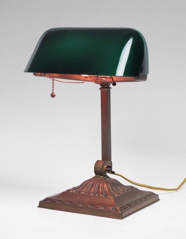 GREEN SHADE EMERALITE 8734 DESK LAMP
