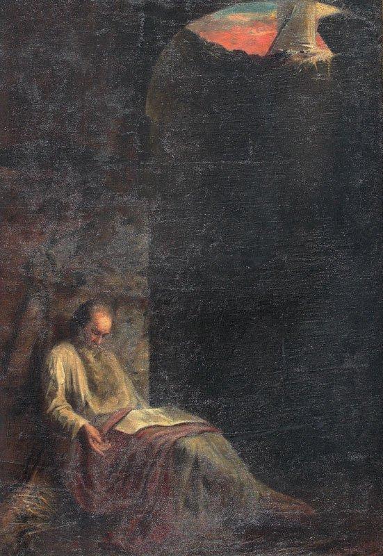32: IMPORTANT ECONOMOU? GREEK PAINTING ST PAUL