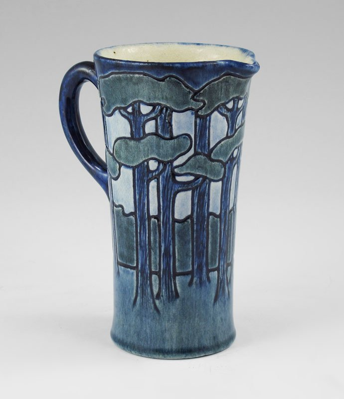 3: SARA BLOOM LEVY NEWCOMB COLLEGE POTTERY PITCHER 5.
