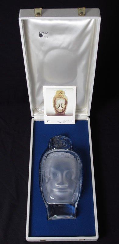 58: DAUM CRYSTAL HEAD OF BUDDHA BOUDDHA - 5