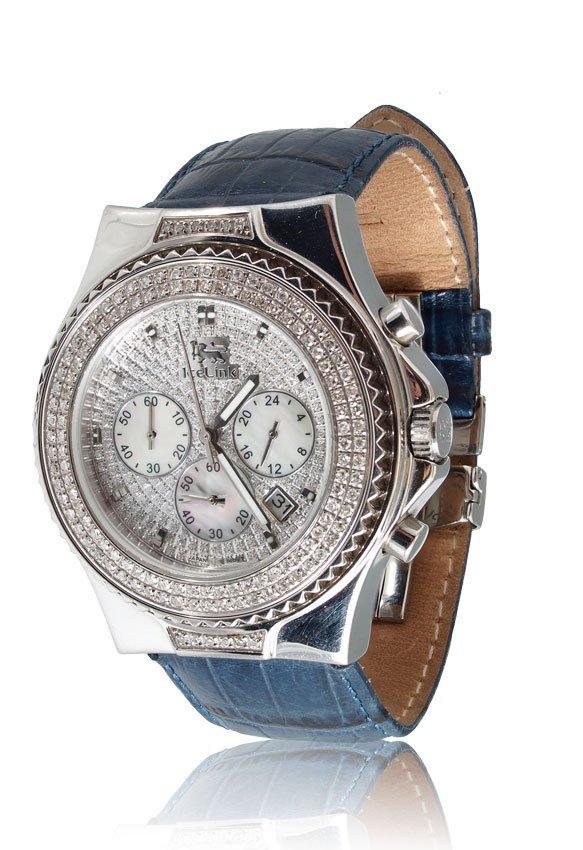 112: ICELINK MARVEL DIAMOND CHRONOGRAPH WRISTWATCH - 2