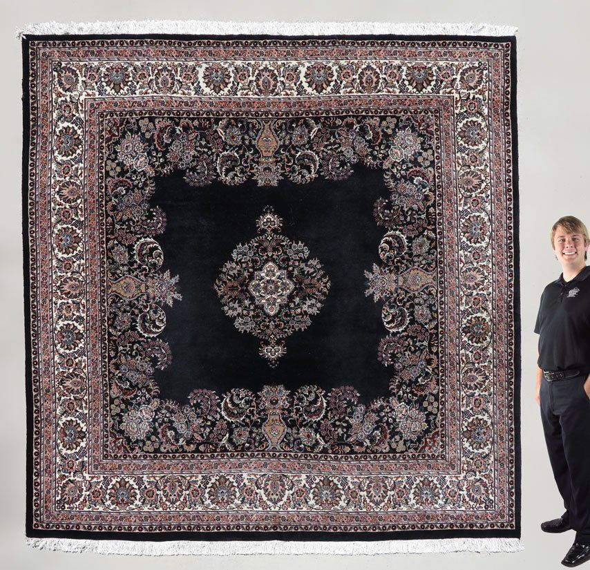 10 X 10 INDO PERSIAN HAND TIED RUG