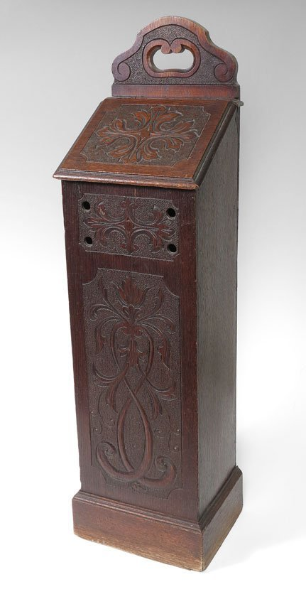 74A: COUNTRY FRENCH CARVED PANETIERE (BREAD BIN)