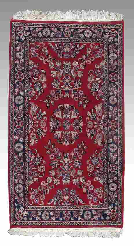 MODERN INDO-PERSIAN HAND KNOTTED WOOL RUG 3