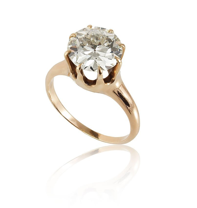 21: 2.85 DIAMOND SOLITAIRE RING