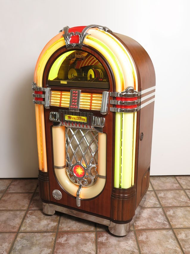 100: GERMAN WURLITZER OMT 1015 CD JUKEBOX