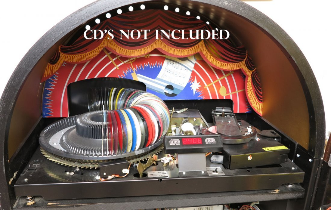 100: GERMAN WURLITZER OMT 1015 CD JUKEBOX - 2