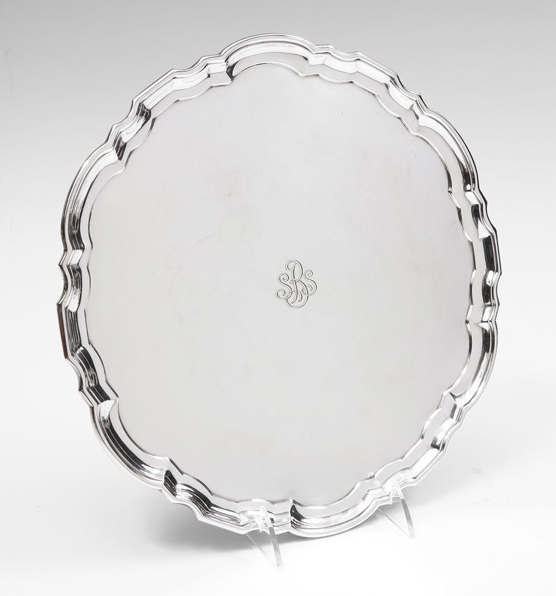 4: TIFFANY STERLING SERVING TRAY