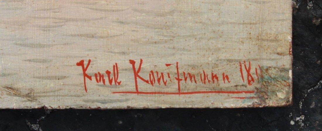 21: KARL KAUFMANN GRAND CANAL VENICE PAINTING - 2
