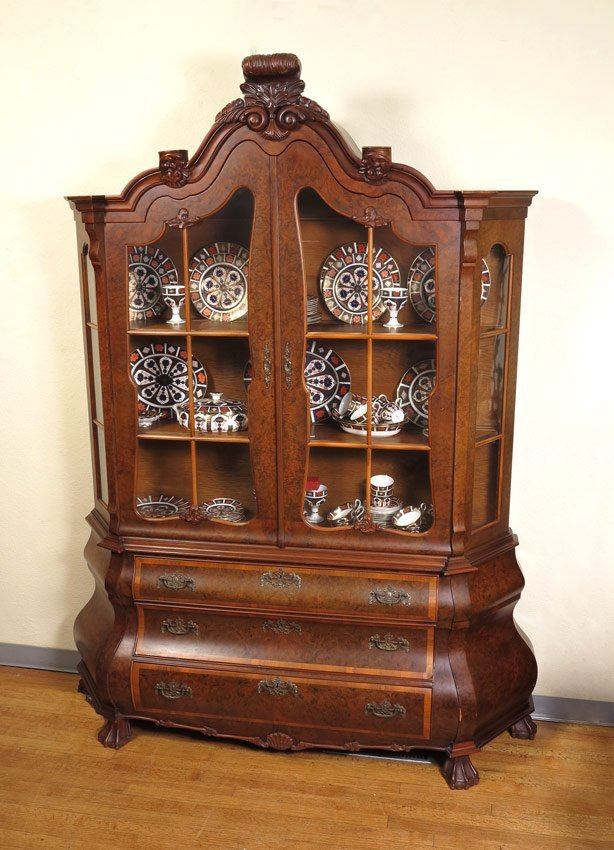 19: BOMBAY BURL CHINA CABINET