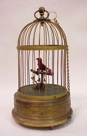 4A: GERMAN SINGING BIRD AUTOMATON