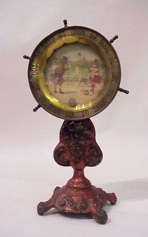 7B: ANTIQUE SPINNING TOY