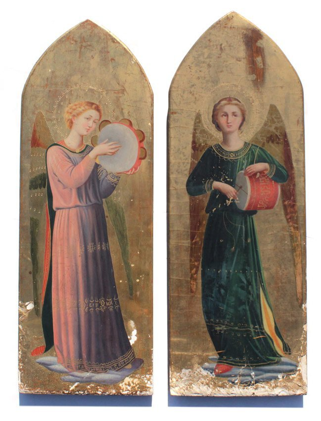 8: 2 PAINTINGS IN THE MANNER OF FRA D'ANGELICO