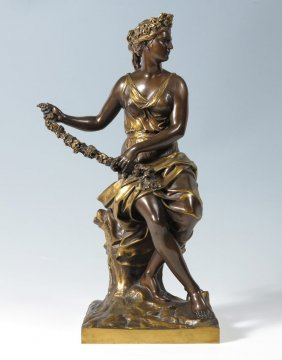 APHRODITE AND CUPID BRONZE AFTER COYZEVOX