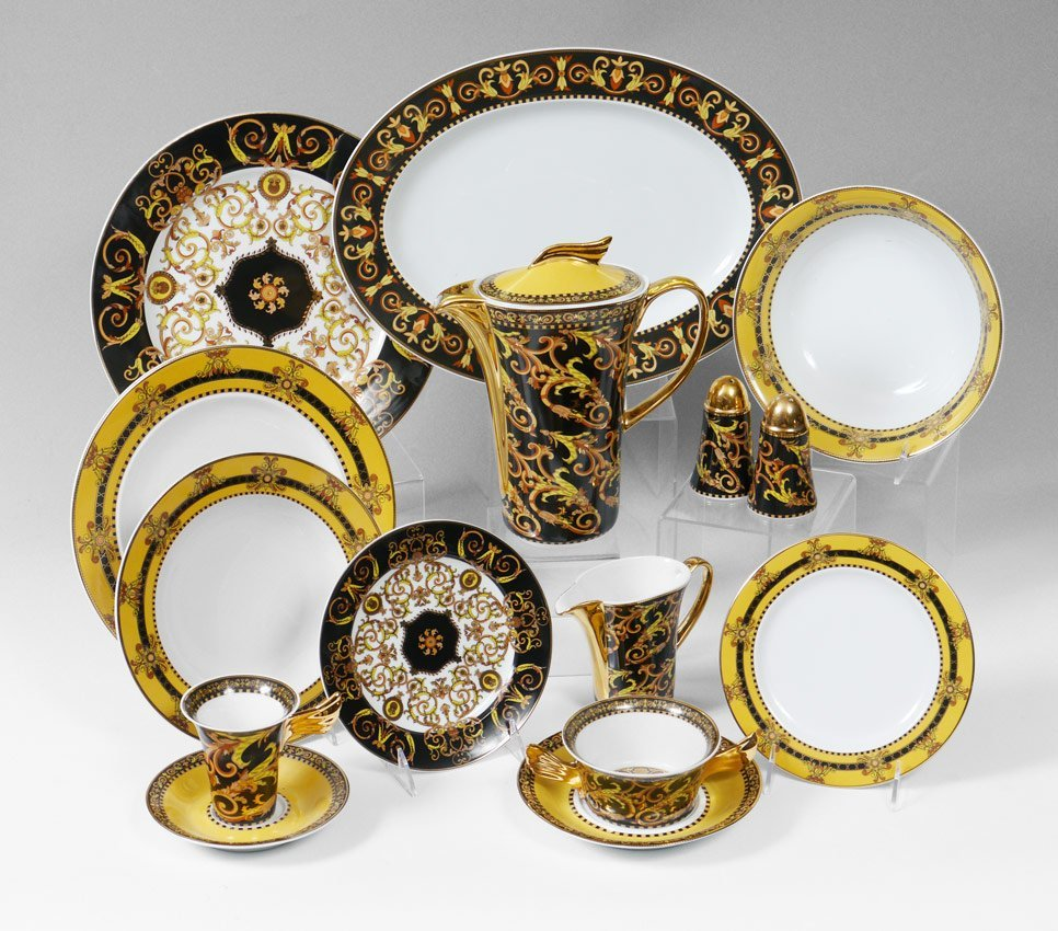 ROSENTHAL VERSACE ''BAROCCO'' CHINA appx 88 pc