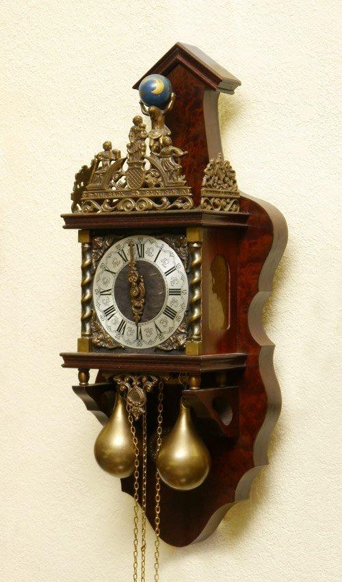 Franz Hermle Atlas Wall Clock