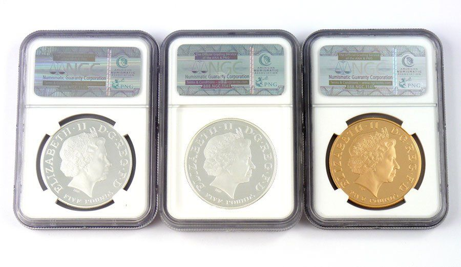 2009 PROOF 70 OLYMPIC COUNTDOWN COIN SET