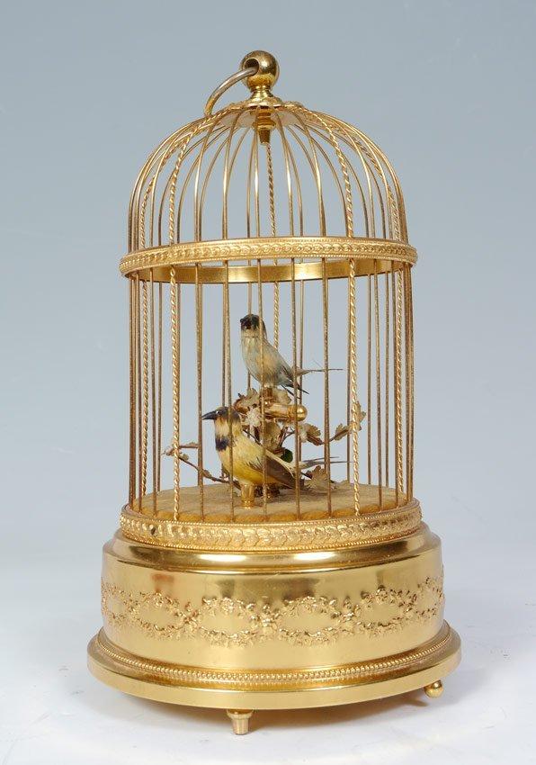 SWISS REUGE 2 BIRD SINGING AUTOMATON