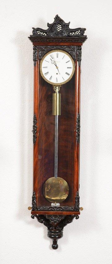 Georg Dicker Vienna Wall Regulator Clock