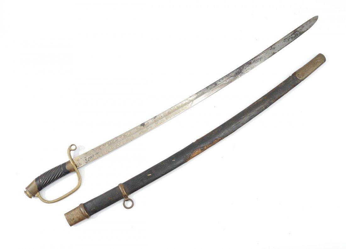 HORSTER IMPERIAL GERMAN ARTILLERY SWORD