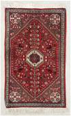 20 YR OLD PERSIAN BIJAR HAND KNOTTED WOOL RUG 2 x