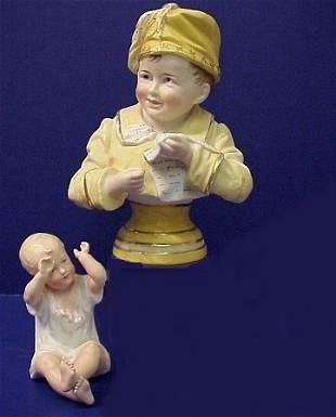 BISQUE PIANO BABIES INCLUDING HEUBACH