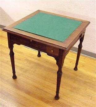FINE VICTORIAN GAME TABLE