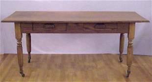 CHESTNUT HARVEST KITCHEN TABLE