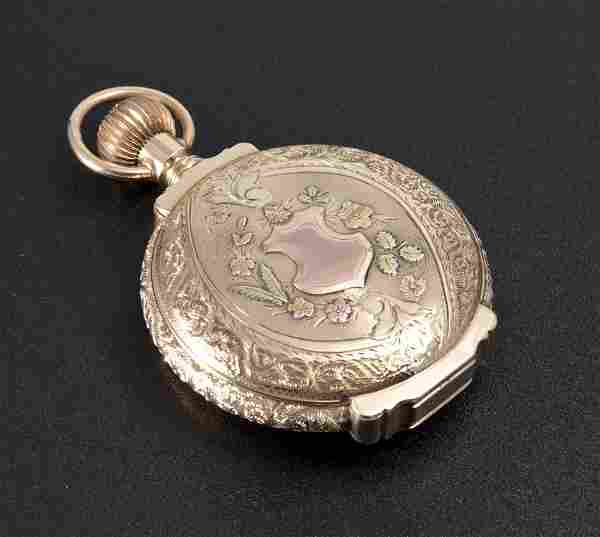 14K GOLD 1888 ELGIN POCKET WATCH