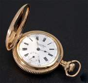 14K GOLD FILLED 1902 WALTHAM POCKET WATCH