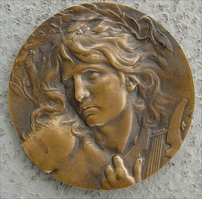 8: LUCIEN COUDRAY ORPHEUS BRONZE MEDAL