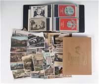 WWII GERMAN DEUTSCHLAND ERWACHT BOOK  POSTCARDS