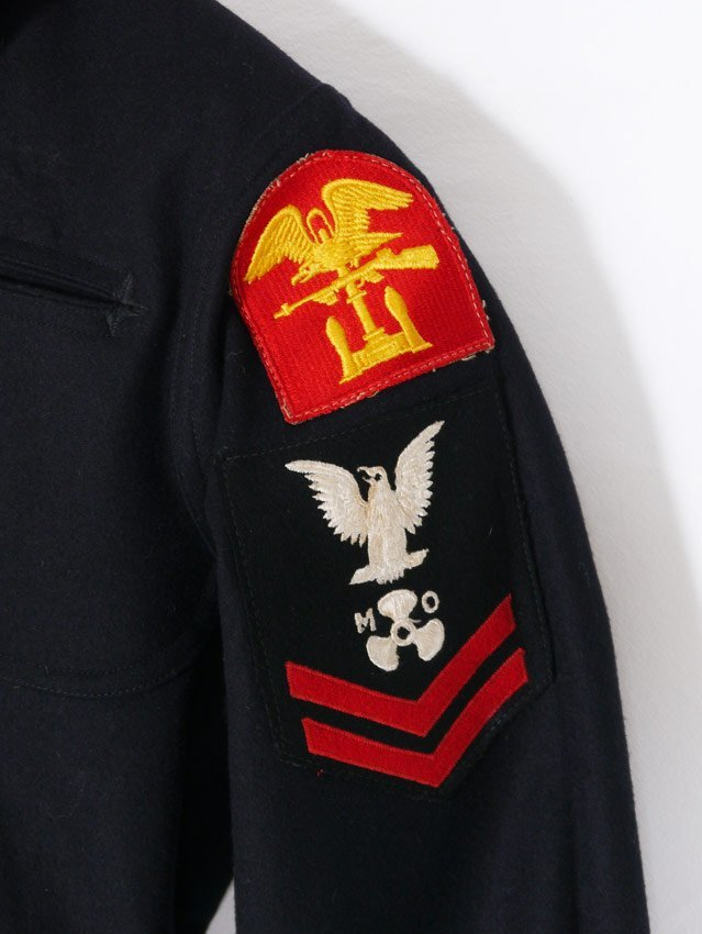 WWII US NAVY MECHANICS UNIFORM - 3