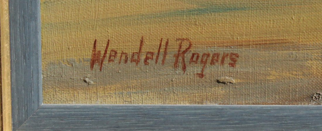 WENDELL ROGERS SEASCAPE PAINTING - 3