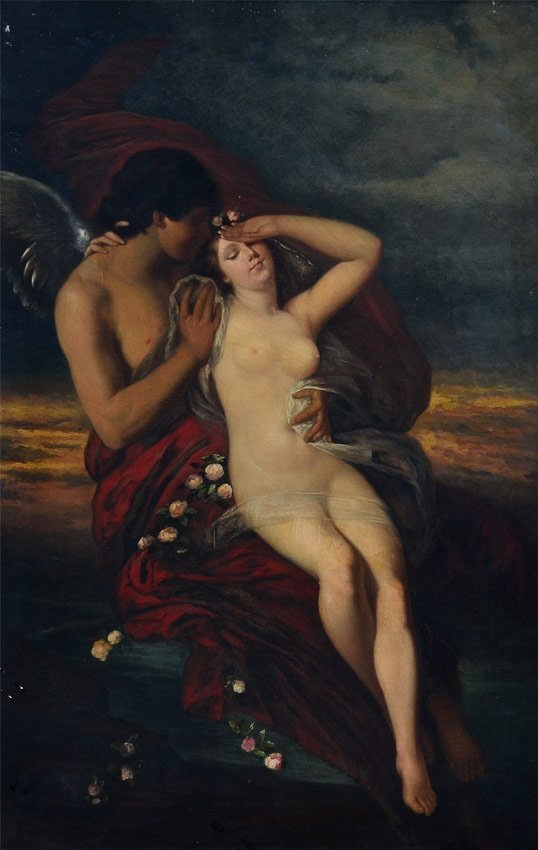 CUPID & PSYCHE PAINTING?