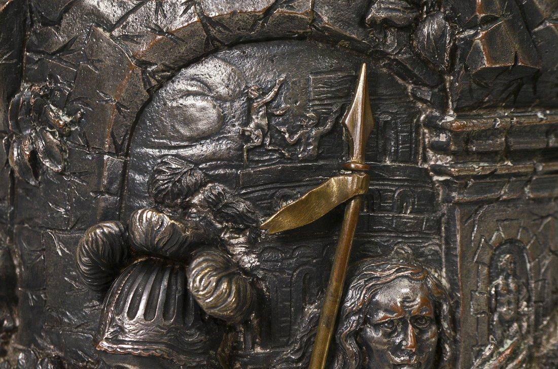 MONUMENTAL ELKINGTON VICTORIAN SILVERPLATE TANKARD - 8