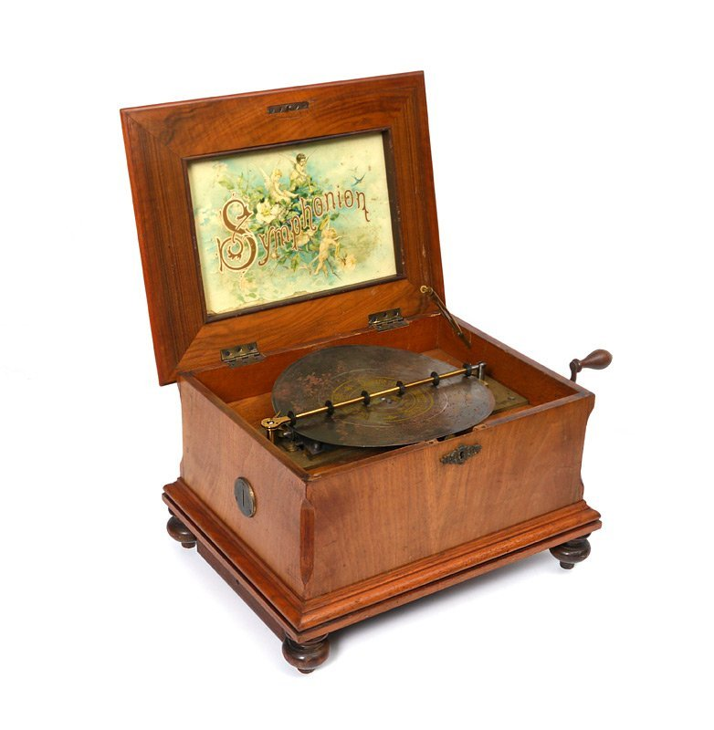 SYMPHONION COIN OPERATED MUSIC BOX