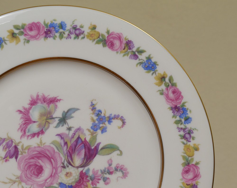 105 PC CASTLETON MANOR FINE CHINA - 2