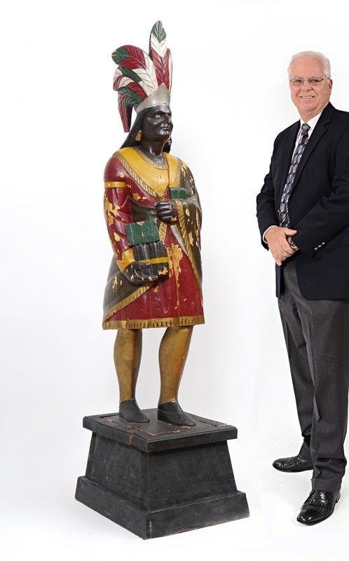 CIGAR STORE INDIAN ATTRB TO SAMUEL ROBB