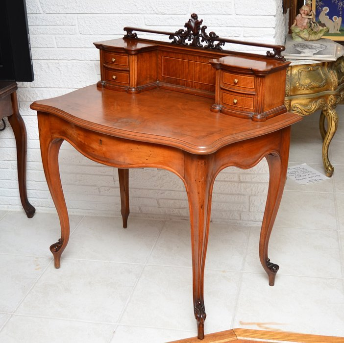 FRENCH VICTORIAN CARVED DESK