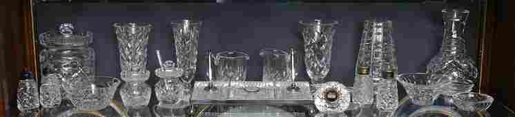 19 PC WATERFORD CRYSTAL MISC