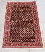 """30 YR OLD PERSIAN HAND KNOTTED WOOL RUG 5'6""""x8'9"""""""