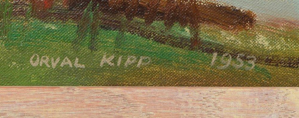 TWO ORVAL KIPP PAINTINGS - 3